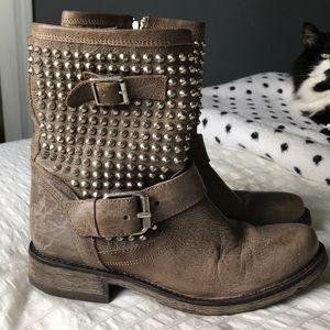Steve Madden studded boots